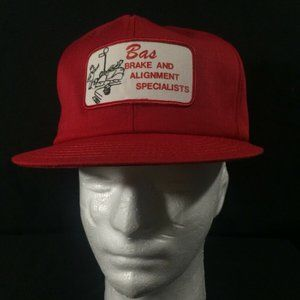 BAS Brake And Alignment Specialists Mesh Trucker H